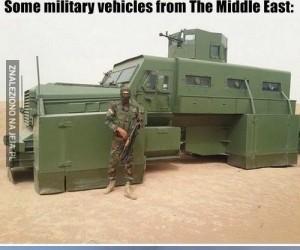 Pojazdy wojskowe z Bliskiego Wschodu