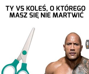 Nożyce vs The Rock