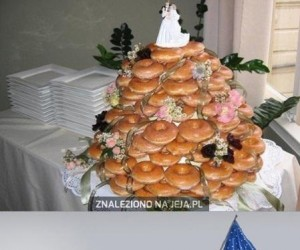 Amerykański tort weselny