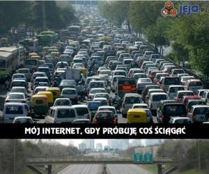 Prędkość mojego Internetu...