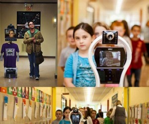 Robot Sheldona umożliwił choremu chłopcu chodzenie do szkoły