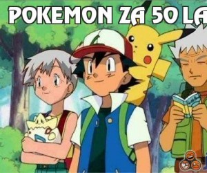 Pokemon za 50 lat...