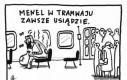 Menel w tramwaju
