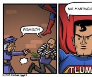 Gdy Superman ma lagi w komendach