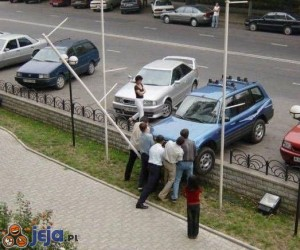 Kobiece parkowanie