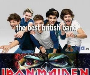 Najlepszy brytyjski zespół?