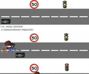 Logika jazdy niektórych kierowców