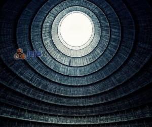 Opuszczona wieża w Belgii