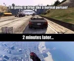 Jeżdżenie samochodem w GTA