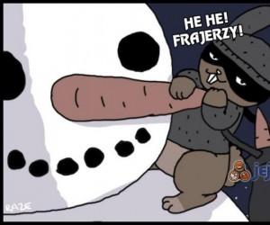 Zimowy złodziejaszek