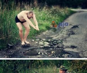 By zwrócić uwagę na zaniedbane drogi