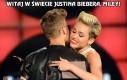 Witaj w świecie Biebera, Miley!