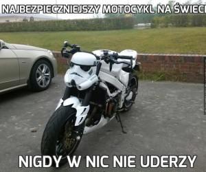 Najbezpieczniejszy motocykl na świecie