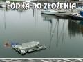 Łódka do złożenia