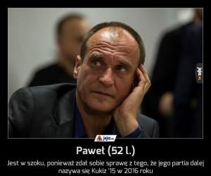 Paweł (52 l.)