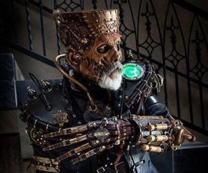 Steampunkowy Frankenstein