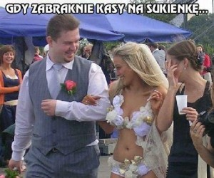 Gdy zabraknie kasy na sukienkę...