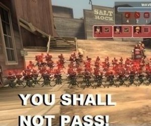 You Shall Not Pass - wersja TF2
