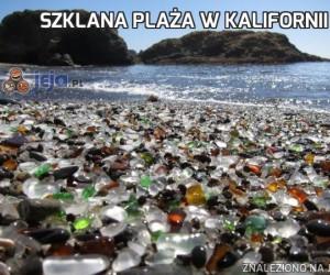Szklana plaża w Kalifornii