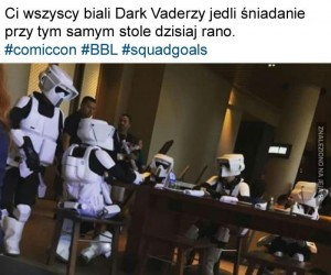 Biali Dark Vaderzy