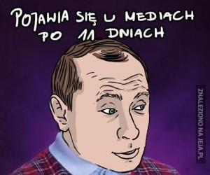 Pechowy Putin
