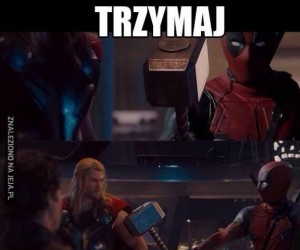 Deadpool nie wie co to godność