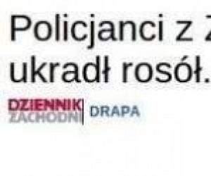 Policja zajmuje się poważnymi sprawami