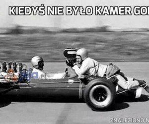 Kiedyś nie było kamer GoPro