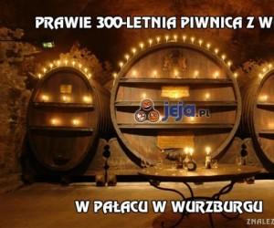 Prawie 300-letnia piwnica z winem