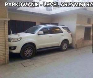 Parkowanie - level arcymistrz