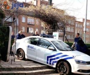 Wpadki policji