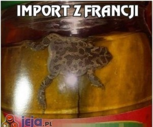 Import z Francji