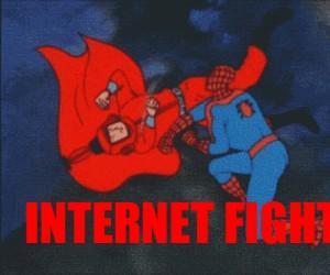Internetowa walka