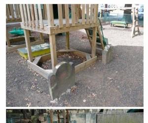 Plac zabaw przy cmentarzu?