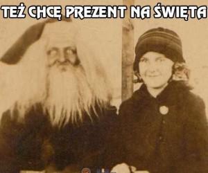 Mikołaj w te święta też chce prezent