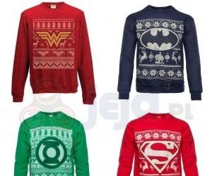 Świąteczne swetry od DC Comics