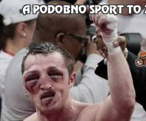 A podobno sport to zdrowie...