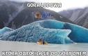 Spód góry lodowej