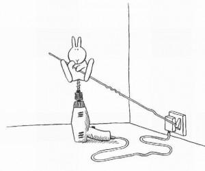 Samobójstwa zajączka: Wiertarka