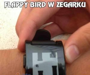 Flappy Bird w zegarku