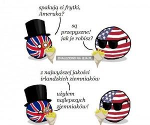 Sekret angielskich frytek
