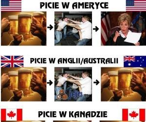 Alkohol - co kraj, to obyczaj