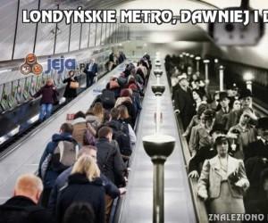 Londyńskie metro, dawniej i dziś