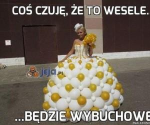 Coś czuję, że to wesele...