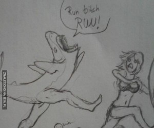 Gdyby rekiny miały nogi