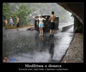 Modlitwa o deszcz