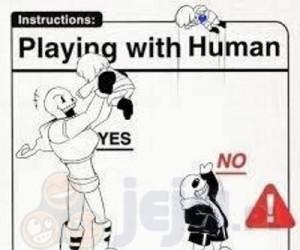 Zabawa z człowiekiem - instrukcja