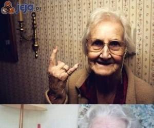 Babcie są różne...