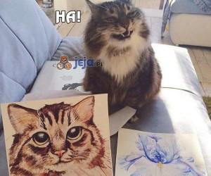 Przestań kocie, nie znasz się na sztuce...