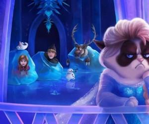 Grumpy Elsa
